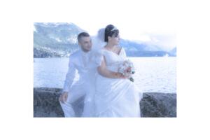 Photo de Mariage Oriental au bord du lac d'Annecy.
