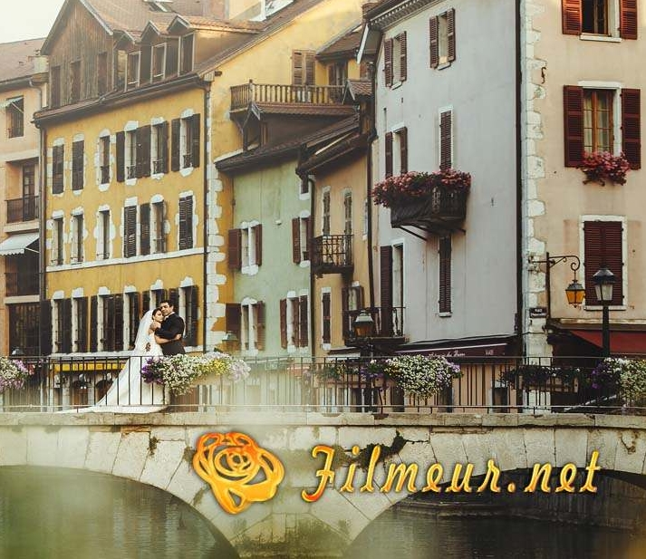 shooting photo annecy mariage palais de l'isle